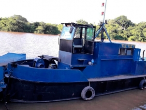 Barco Draga de Areia